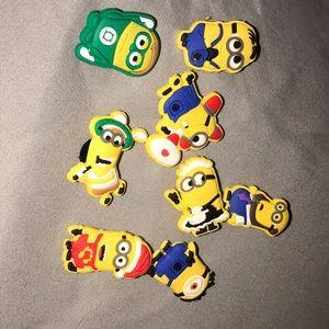 Minions Croc Charms, Jibbitz, Pins